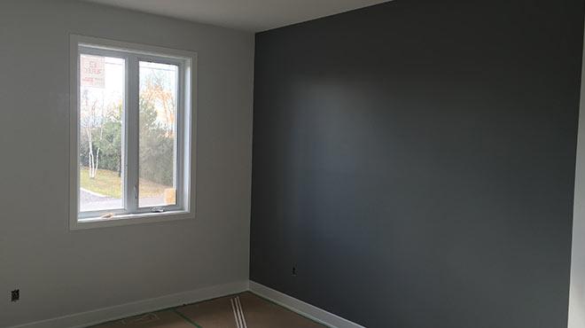 peinture interieur maison amazing ide dco peinture intrieur maison ules murs bicolores. Black Bedroom Furniture Sets. Home Design Ideas